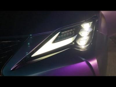 2019 Lexus RC vs 2015 Lexus RC F Headlight Comparison