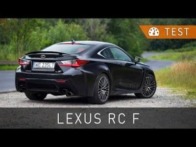 Lexus RC F 5.0 V8 477 KM (2016) – test [PL] [review ENG sub] | Project Automotive