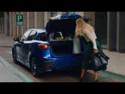 Novo Lexus CT 200h – Bagageira