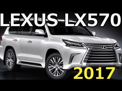 レクサス 新型 LEXUS LX570 マイナーチェンジ 最新情報 2017