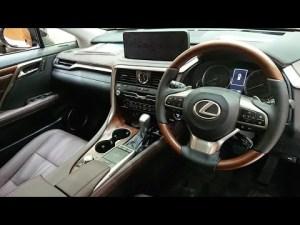 LEXUS RX 450h version.L 2020 New model レクサス 新型 RX アンバークリスタルシャイン ブラウン内装