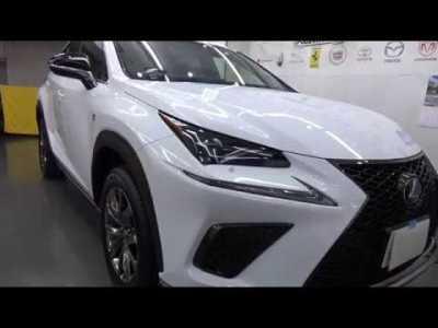 レクサスNX300Fスポーツハイブリッド|車磨きとコーティング専門店|東京のポリッシュファクトリー|ガラスコーティング施工事例