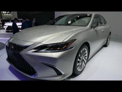 レクサス 新型「ES」!LSに似てる。2.5Lハイブリッドで燃費が驚愕!【新型車 発表】