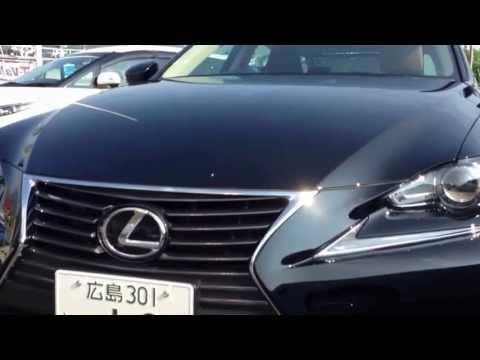 同じ試乗車? レクサス新型IS250 versionL ブラック Lexus IS250 black new