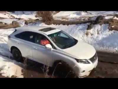 レクサスrx450h でオフロード2 Lexus