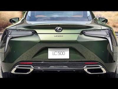 2019 レクサスの新型車、一部改良・特別仕様車!新型 LC PATINA Elegance・IS I Blue・GS F・RC!