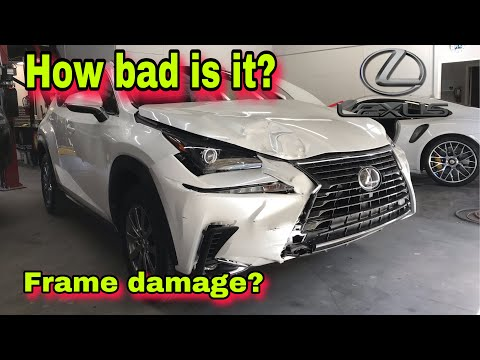 REBUILDING A WRECKED NEW 2019 LEXUS NX 300