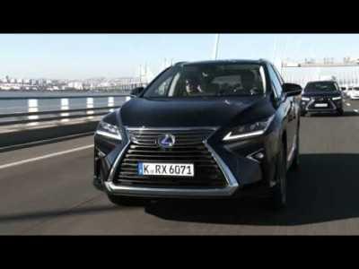 Lexus RX450H Footage Dinamiche 1080HD