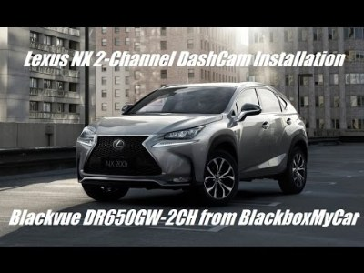 How to Install 2 Channel Dashcam on SUV – Lexus NX