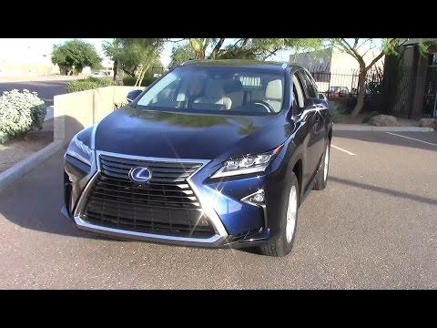 2016 Lexus RX 450h Hybrid SUV: Performance & Fuel Economy Test
