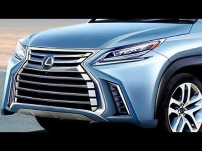 2020 レクサス 新型 LX レンダリングが公開!スピンドルグリル採用
