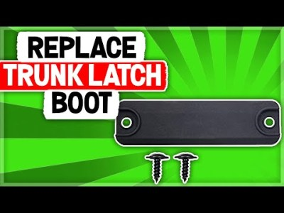 How to Replace Trunk Latch on Lexus RX SUV