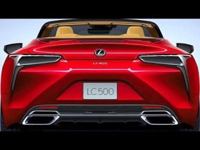 レクサス 新型 LC500コンバーチブル 日本発売は2020年夏頃!5.0リットル V型8気筒ガソリン自然吸気エンジンを搭載!