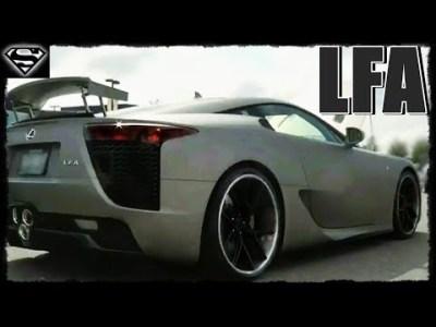 レクサスLFA パワースライド&爆音・加速サウンドが最高www~!【Lexus TOYOTA スーパーカー】
