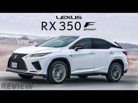 The 2020 Lexus RX350 F Sport is Amazing