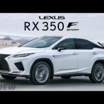 The 2020 Lexus RX350 F Sport is Amazing