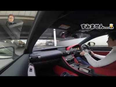 LEXUS RC F 硬いのはスポーツカー性能!! 今や貴重な5リッターV8サウンドはいい音しますので必見です♫ E-CarLife with 五味やすたか