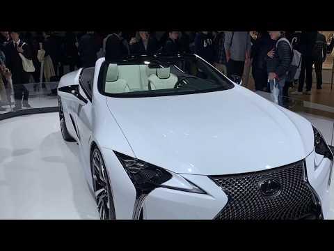 LEXUS LC CONVERTIBLE TOKYO MOTOR SHOW / 東京モーターショー2019 レクサスLCコンバーチブルコンセプト