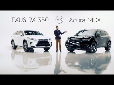 2020 Lexus RX 350 Road Test & Review vs. The 2020 Acura MDX