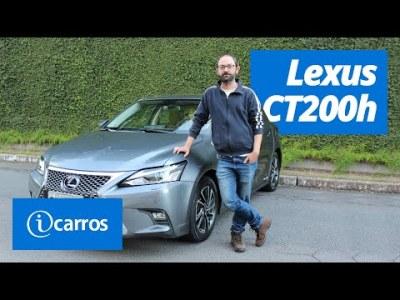 Lexus CT200h: vale mais que o Toyota Prius?   1º Contato iCarros