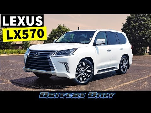 2019 Lexus LX 570 – Biggest and Most Expensive Lexus SUV