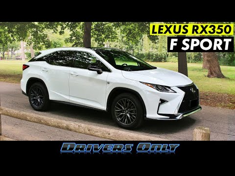 2019 Lexus RX 350 F-Sport – The Best Selling SUV Just Got Better