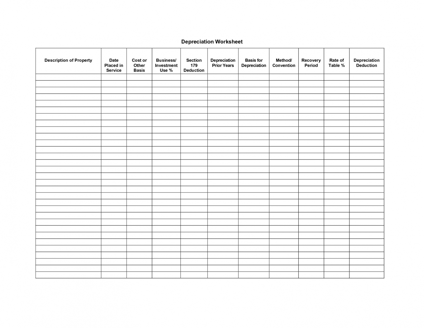 Free Printable Bookkeeping Sheets