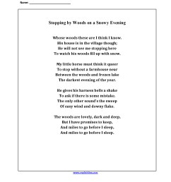 Intro To Poetry Worksheet   Printable Worksheets and Activities for  Teachers [ 2200 x 1700 Pixel ]