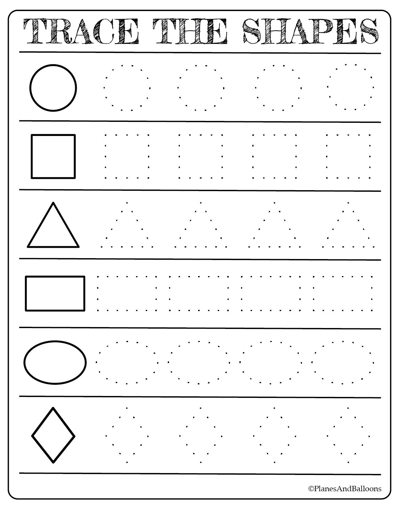 Toddler Learning Worksheets