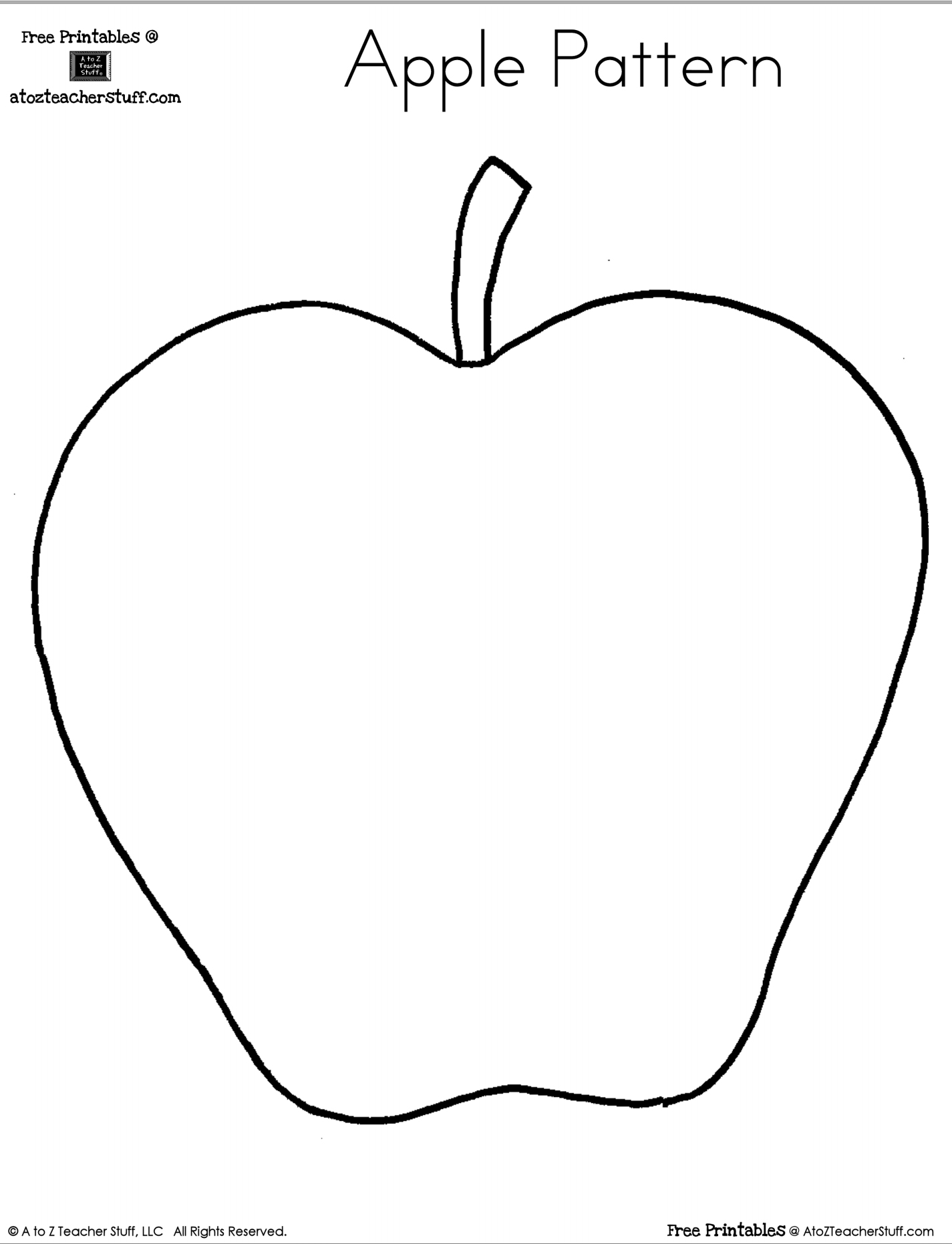 Apple Theme Worksheets And Apple Stem Activities Free