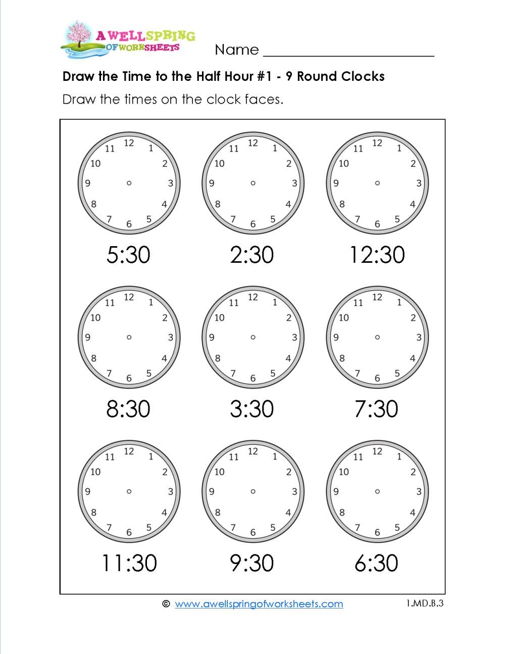 medium resolution of Og Clock Worksheets 2nd Grade   Printable Worksheets and Activities for  Teachers