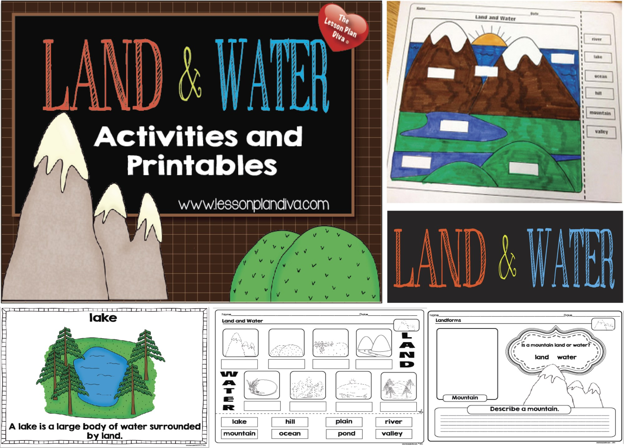 hight resolution of Landform Diagram Worksheet   Printable Worksheets and Activities for  Teachers