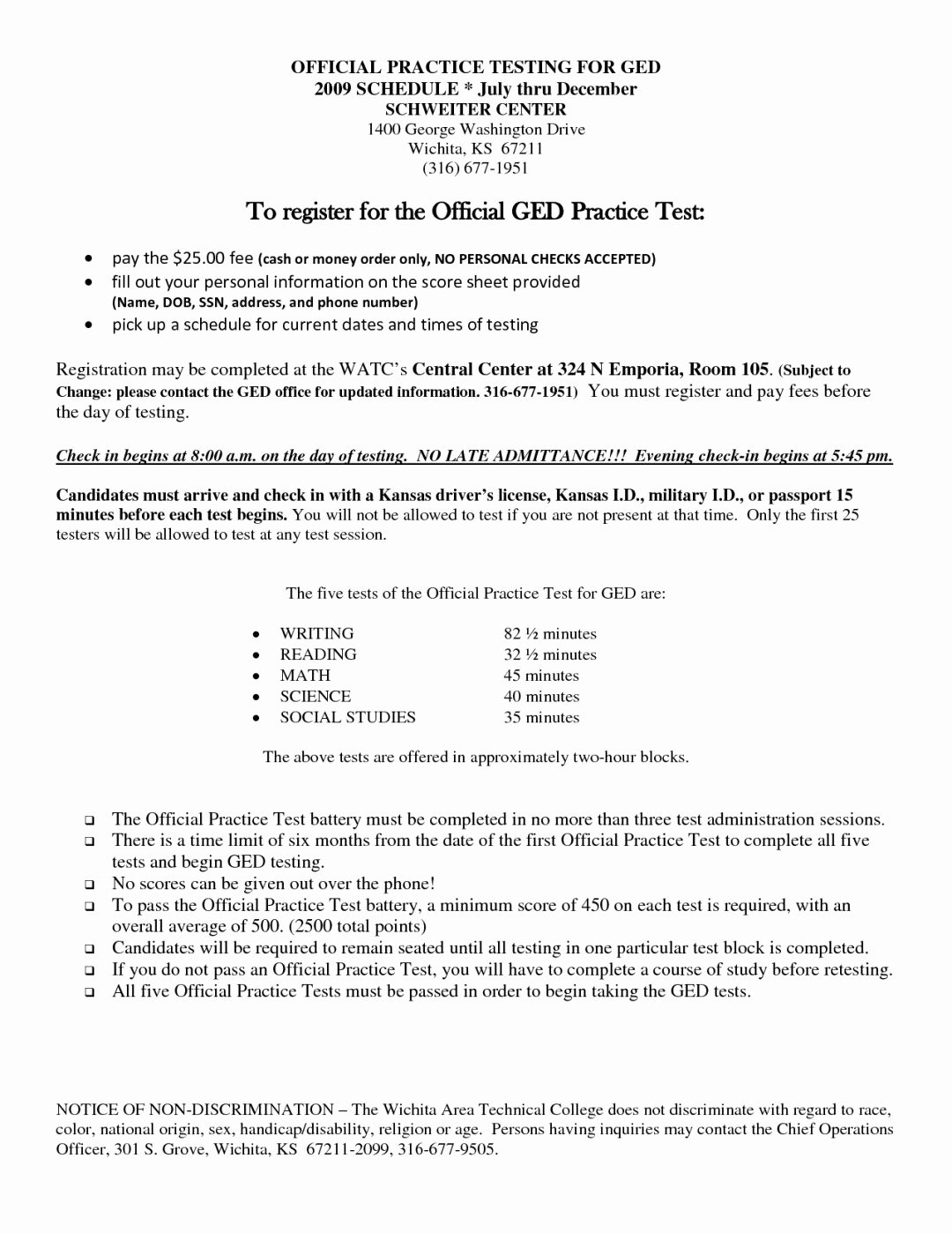 Printable Ged Practice Worksheets