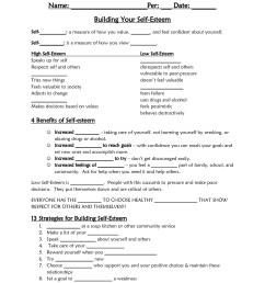 Self Esteem Worksheet Spanish   Printable Worksheets and Activities for  Teachers [ 1650 x 1275 Pixel ]