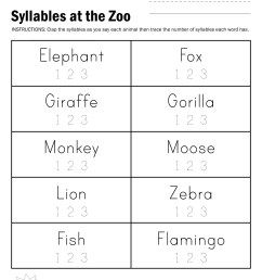 Closed Syllables Worksheets Free   Printable Worksheets and Activities for  Teachers [ 3300 x 2550 Pixel ]