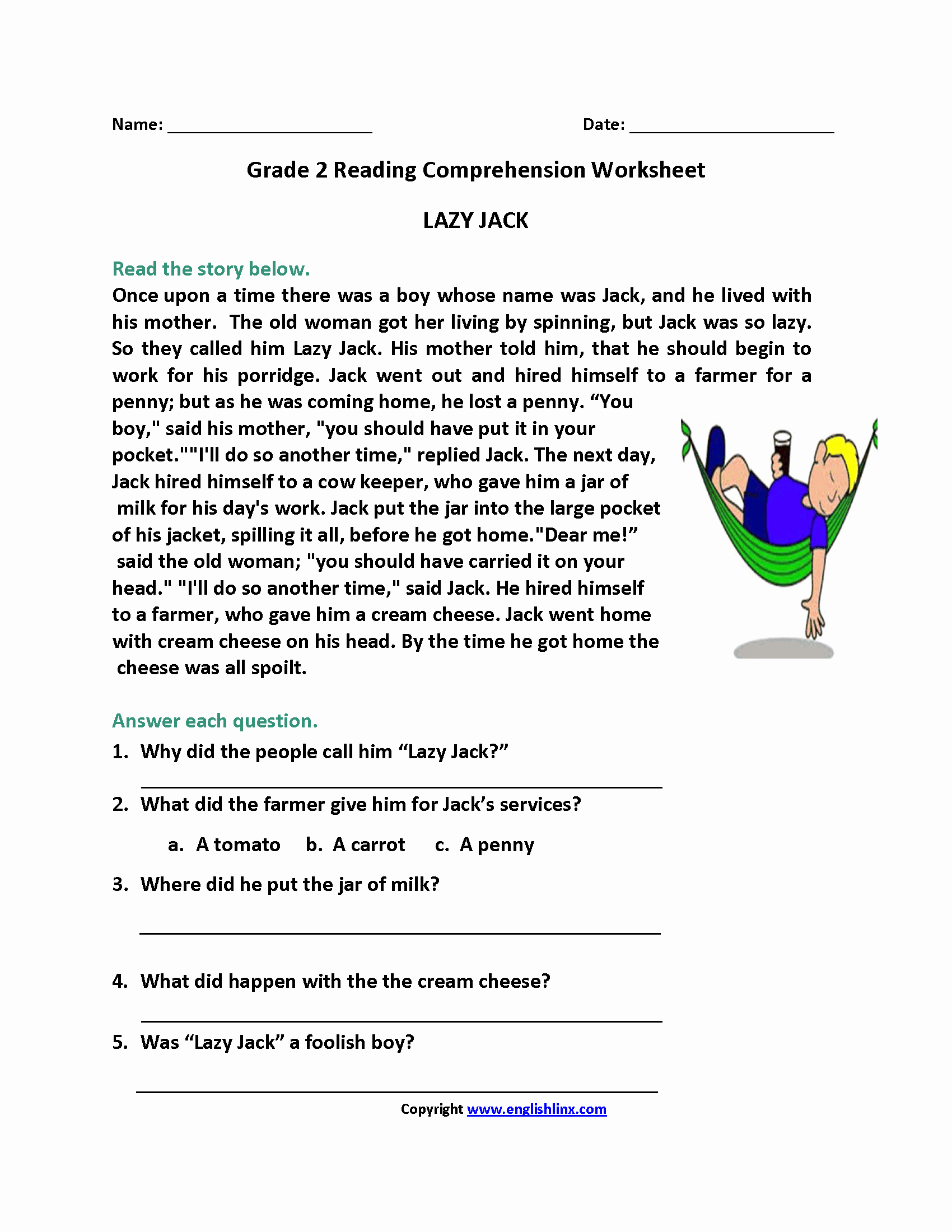 Worksheet Kids Free Printable Language Arts Worksheets