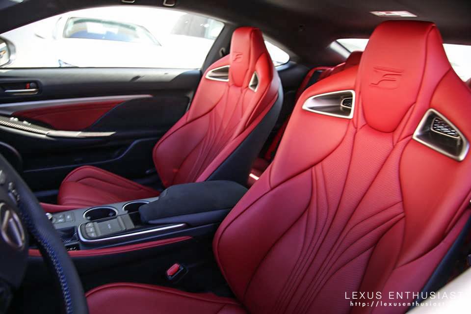 Photo Gallery Ultra White Lexus RC F in California  Lexus Enthusiast