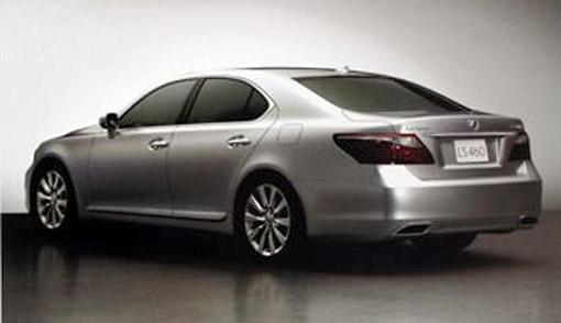 2010 Lexus LS 460/460L Rear