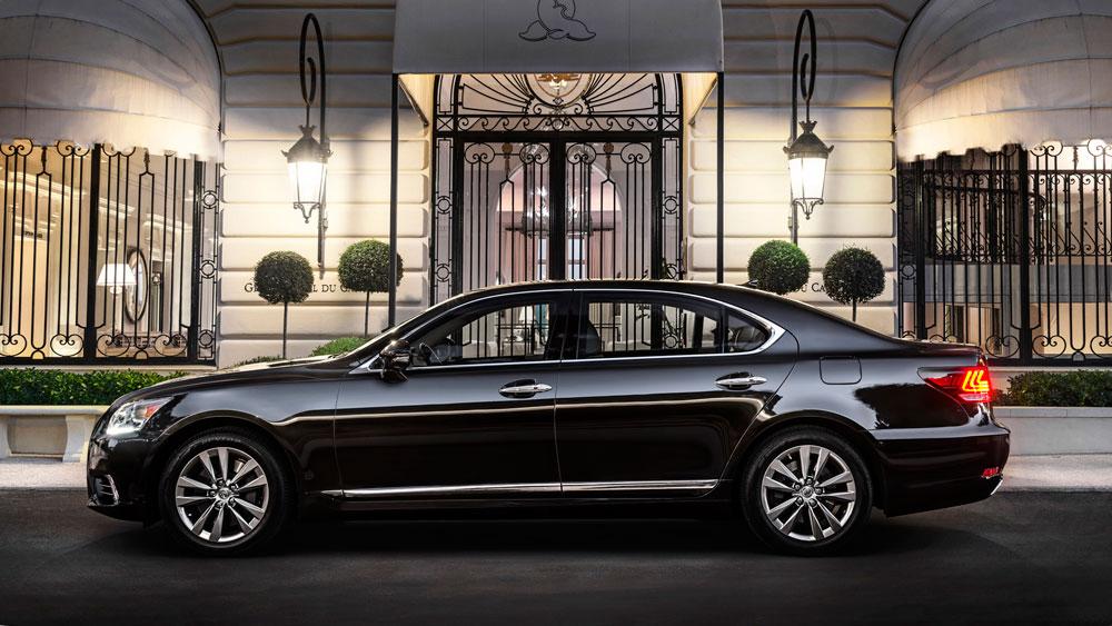 Lexus LS 500h Trademark