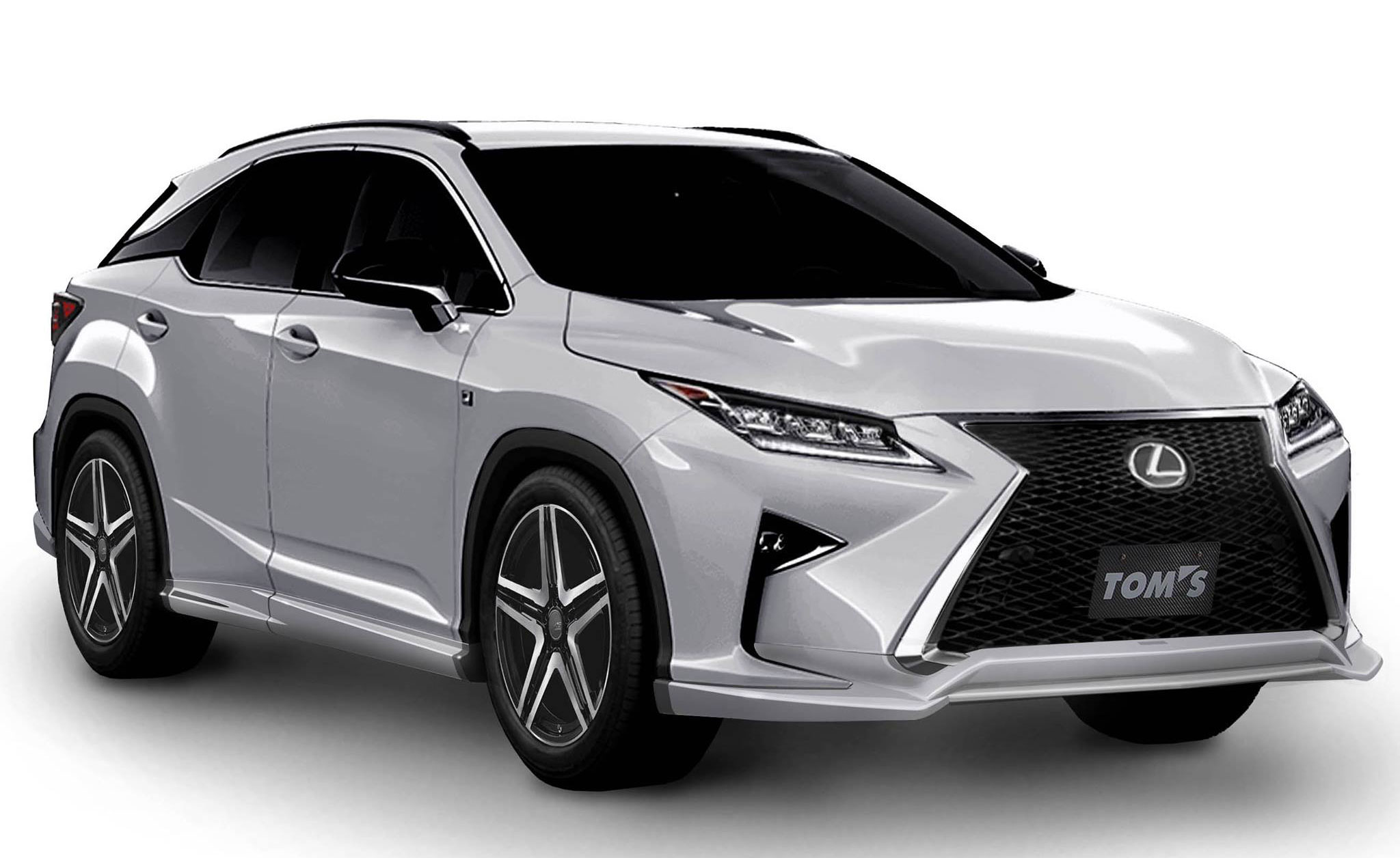 Lexus Tuner TOM S Japan Working on New RX Body Kit