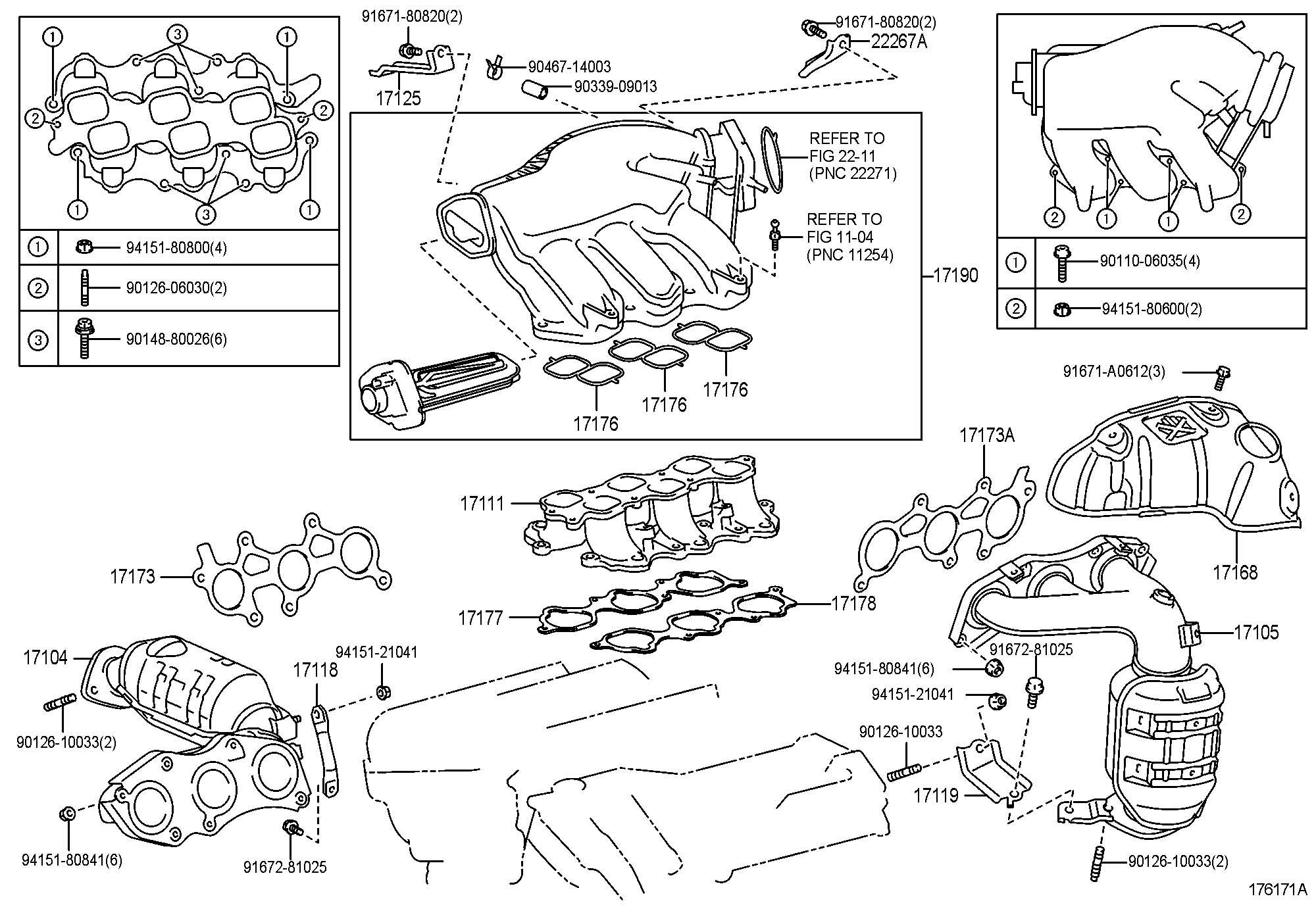Lexus Rx350 Manifold