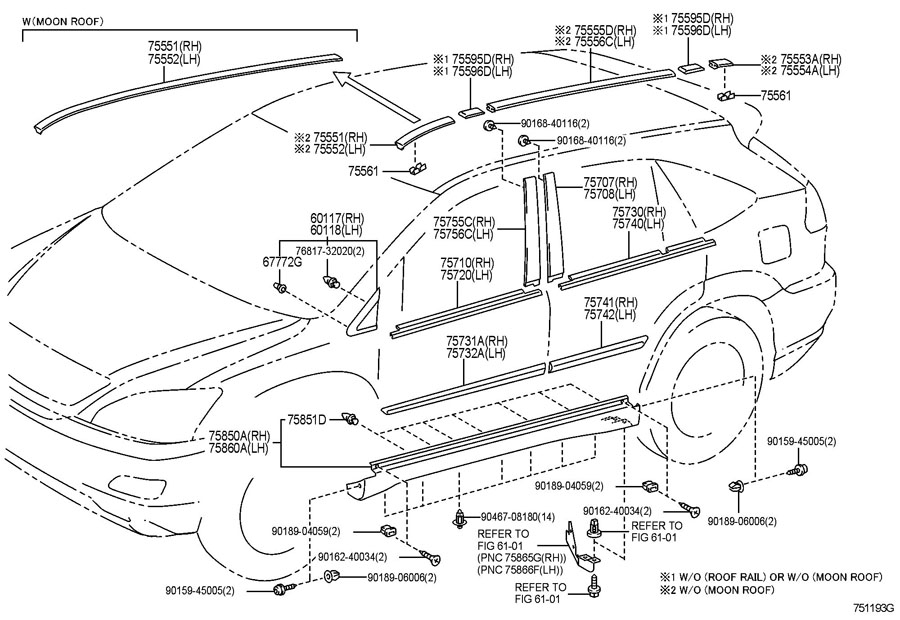 [DIAGRAM] Lexus Rx330 Parts Diagram FULL Version HD