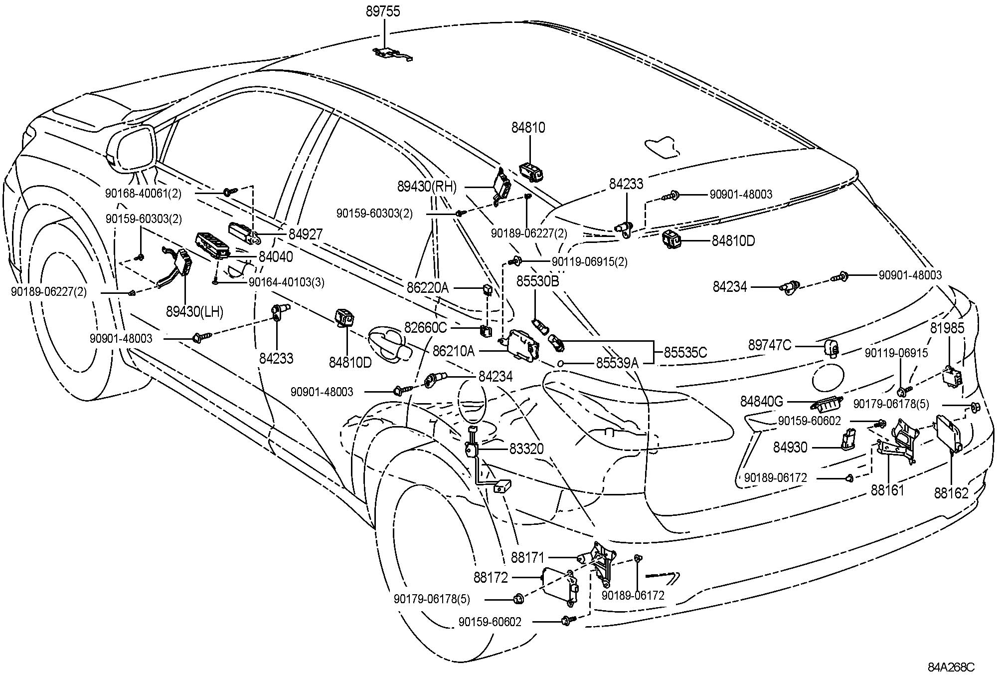 2004 Lexus Rx330 Parts Diagram, 2004, Get Free Image About