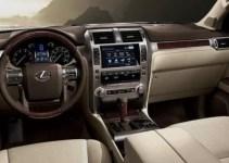 2019 Lexus GX Interior