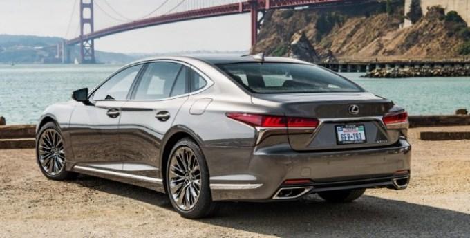 2019 Lexus LS 500 Exterior