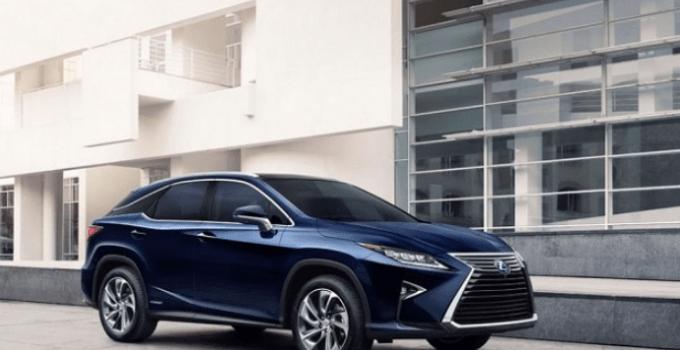 2020 Lexus RX 450h Exterior