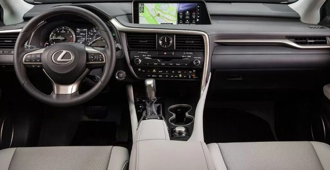 2019 Lexus RX 350 F Interior