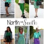 North vs. South: Emerald