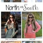 North vs. South: Monochrome