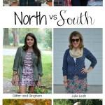 North vs. South: Mixing Prints